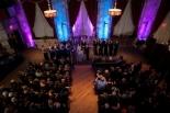 Society Room Wedding Altar